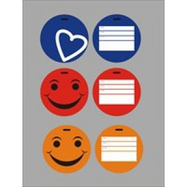 KORJO Colourful Luggage Tag (LTPC)