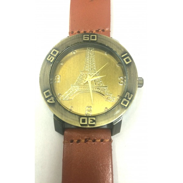 Vintage Eiffel Tower Mens Watch