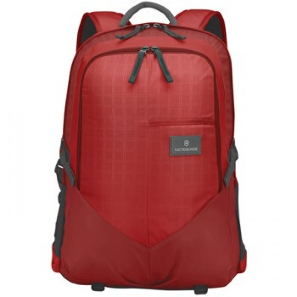 "Victorinox 17""/43Cm, Dlx. Laptop Backpack-Red/Black (32388003)"