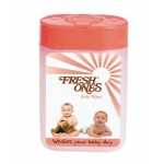 Fresh Ones Tissue Baby Wet Wipes Container Pack - 40 Sheets