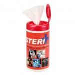 Steri Plus Antibacterial Wipes, 60 Wipes (TAIN0011)