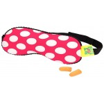 Microbeads Eye Mask with Ear Plugs - Pink