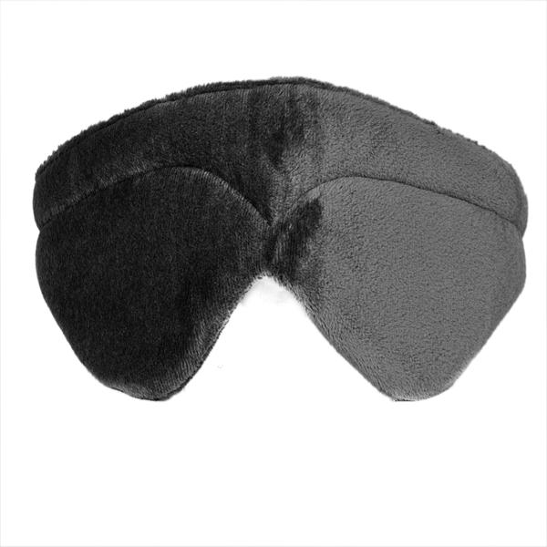 VIAGGI Memory Foam Travel Eye Mask - Grey