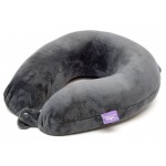VIAGGI Memory Foam Travel Neck Pillow - Grey