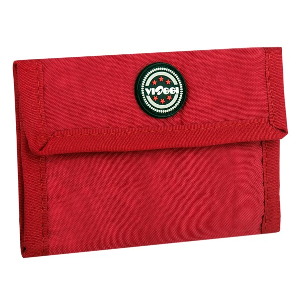 VIAGGI Travel Unisex Wallet - Red