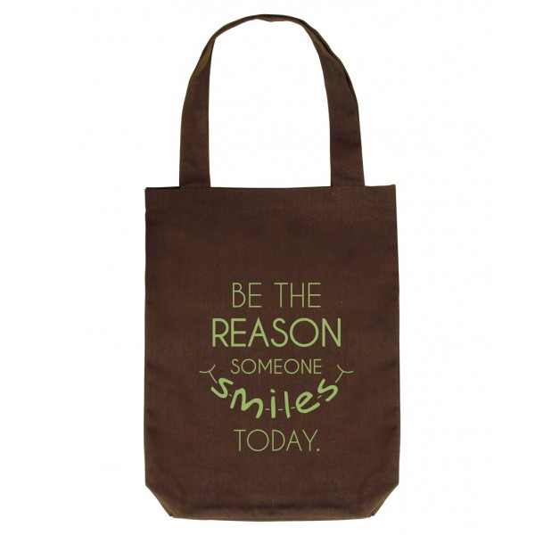 Clean Planet BE THE REASON  (brown with green print)