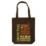 Clean Planet Invictus (brown with orange, yellow print)