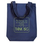 Clean Planet Think Big  (blue with green print)